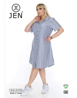 Платье-рубашка - фото 7115