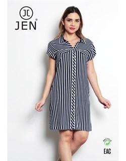 Платье-рубашка - фото 7133