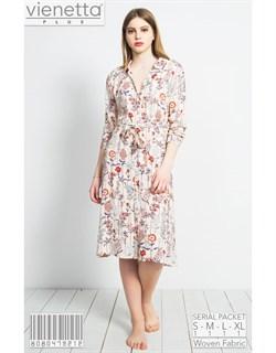 Платье-рубашка PLUS - фото 7146