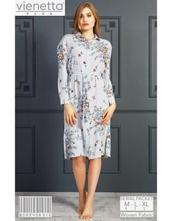 Платье-рубашка PLUS - фото 7187