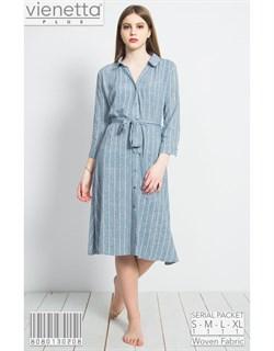 Платье-рубашка PLUS - фото 7310