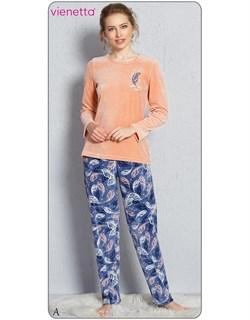 Пижама велюр - фото 7321