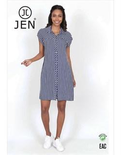 Платье-рубашка - фото 7341