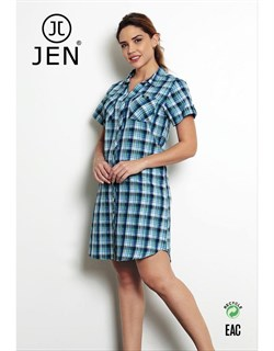 Платье-рубашка - фото 7343