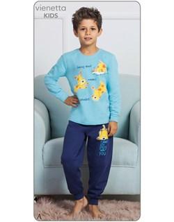 Пижама детская байка - фото 7488