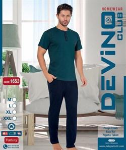 Комплект футболка брюки - фото 7504