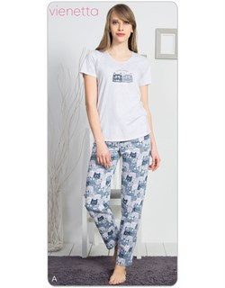 Комплект футболка брюки - фото 7703