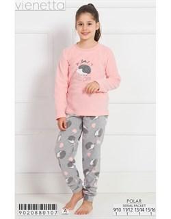 Пижама подростковая флис - фото 7705