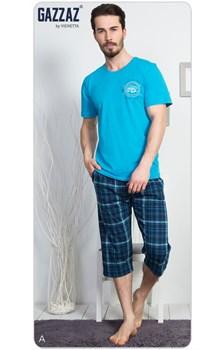 Комплект футболка капри - фото 7760