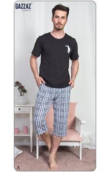 Комплект футболка капри - фото 7762