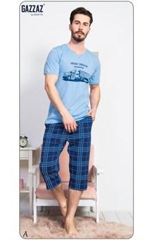 Комплект футболка капри - фото 7769