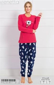Пижама флис - фото 7777