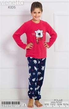 Пижама подростковая флис - фото 7780
