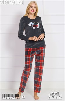 Пижама велюр - фото 7785