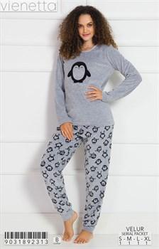 Пижама велюр - фото 7787