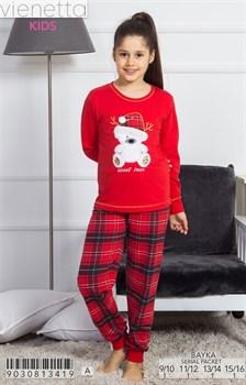 Пижама подростковая байка - фото 7795