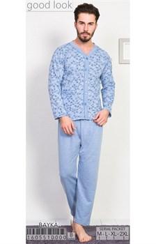 Пижама мужская байка - фото 8039