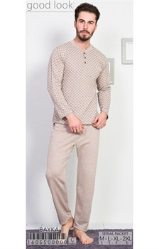 Пижама мужская байка - фото 8052