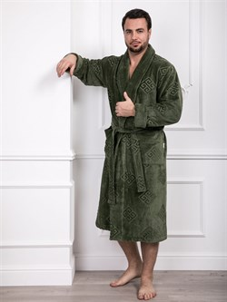 Халат мужской банный - фото 8085