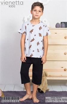Комплект детский футболка капри - фото 8100