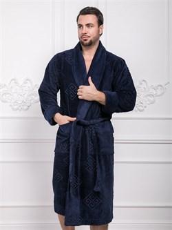 Халат мужской банный - фото 8202