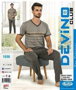 Комплект футболка брюки - фото 8229