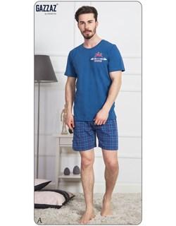 Комплект футболка шорты - фото 8277