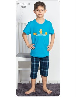 Комплект подростковый - футболка и капри - фото 8288