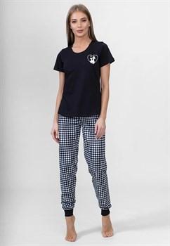 Комплект футболка брюки - фото 8318