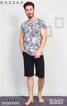 Комплект футболка капри - фото 8501