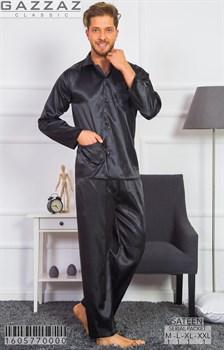 Пижама мужская шёлковая - фото 8503