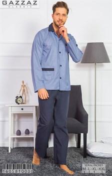Пижама мужская поплин - фото 8548
