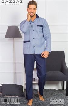 Пижама мужская поплин - фото 8550