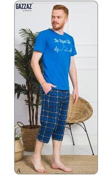 Комплект футболка капри - фото 8582