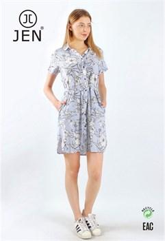 Платье-рубашка - фото 8609