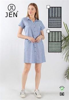 Платье-рубашка - фото 8796