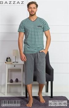 Комплект футболка капри - фото 9017