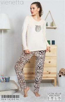 Пижама велюр - фото 9331