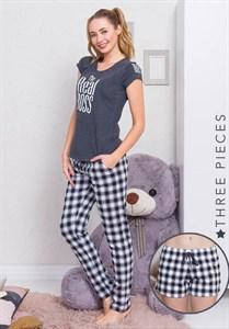 Комплект футболка брюки 3 в 1