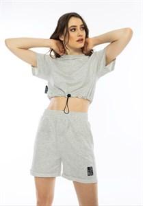 Женский комплект футболка шорты Laundge