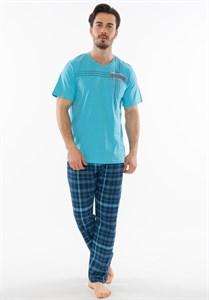 Комплект для отдыха футболка и брюки