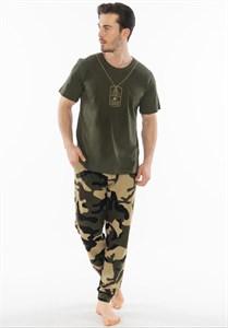 Комплект мужской футболка и брюки