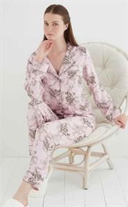 Женская пижама из сатина на пуговицах  Angel`s Secret