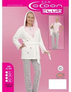 Комплект пижама халат 3в1