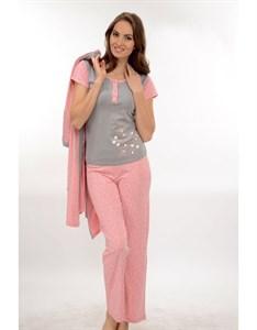 Комплект пижама халат