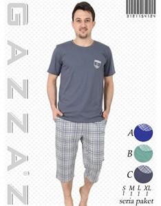 Комплект футболка капри
