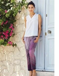 Комплект блуза брюки