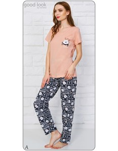 Комплект футболка брюки good look