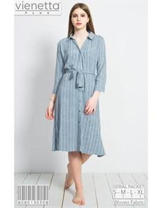 Платье-рубашка PLUS