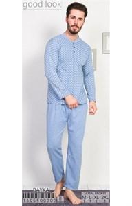 Пижама мужская байка